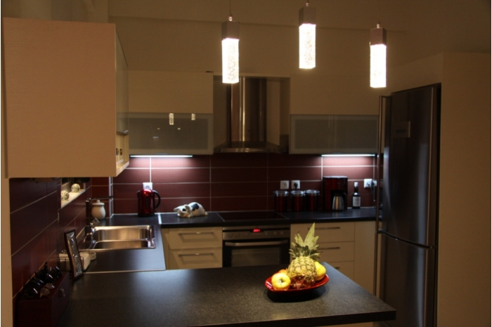 villa chania  kitchen